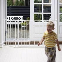 BabyDan Configure Flex Gate Medium - White (90-146 cm)