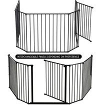 Product BabyDan Configure Flex XL Hearth Gate Black 90-278cm