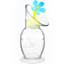 Haakaa Silicone Breast Pump Flower Stopper - Blue Haakaa