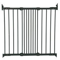 BabyDan Flexi Fit Metal Stair Gate - Black (67-105.5 cm) BabyDan
