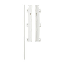 Babydan Wall Mounting Kit - White