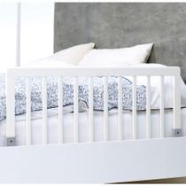 BabyDan Wooden Bedrail White