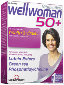 Vitabotics Wellwoman 50 Plus