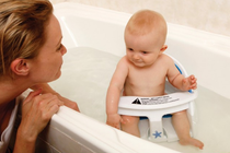 Dreambaby Bath Seat W/Foam Padding & Heat Sensor Dreambaby