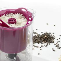 Beaba Babycook Baby Food Maker/Steam Cooker/Blender Neon Beaba