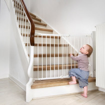 Safetots Multi Fit Stair Gate No Trip Bar Baby Safety Diagonal Fit Gate to 105cm