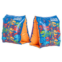 Zoggs Baby Swimming Armbands Blue Shark