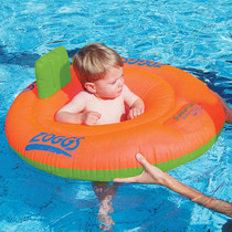 Zoggs Swimming Trainer Seat Orange/Green with toddler