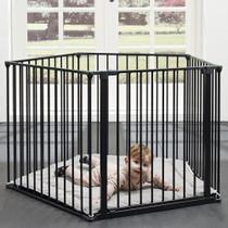 BabyDan 3 in 1 - Playpen, Room Divider & Hearth Gate PLAYPEN image close