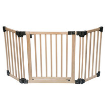Wooden Multi Panel Multi Use Safety Barrier 96.5 to 176.5cm
