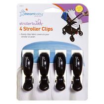 Dreambaby Stroller Buddy Stroller Clips - 4 Pack