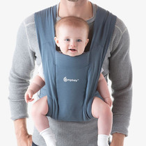 Ergobaby Embrace From Newborn - Oxford Blue male model
