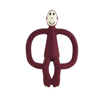 Matchstick Monkey Original Teething Toy Claret