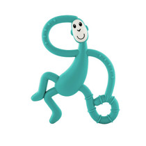 Matchstick Monkey Dancing Monkey Teether Green