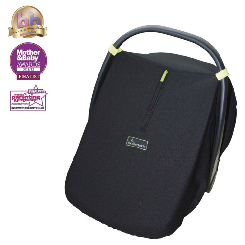 SnoozeShade for Infant Car Seats - Black