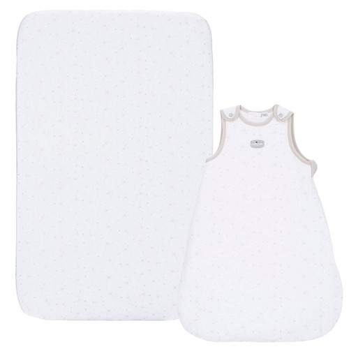 Chicco Sleeping Bag & Fitted Sheet Set - Delicacy