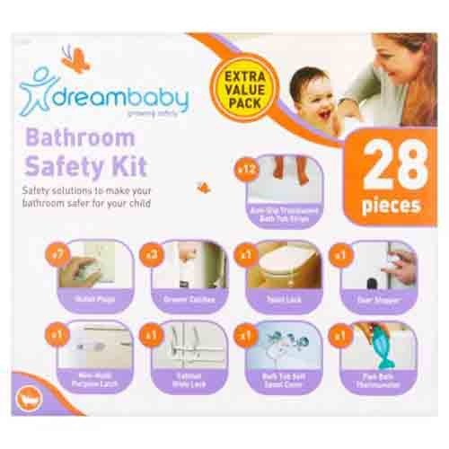 Dreambaby Bathroom Safety Kit - 28 Piece