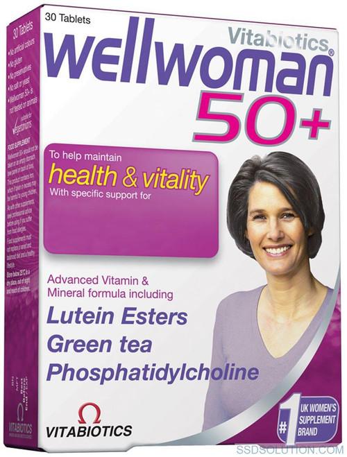 Vitabotics Wellwoman 50 Plus
