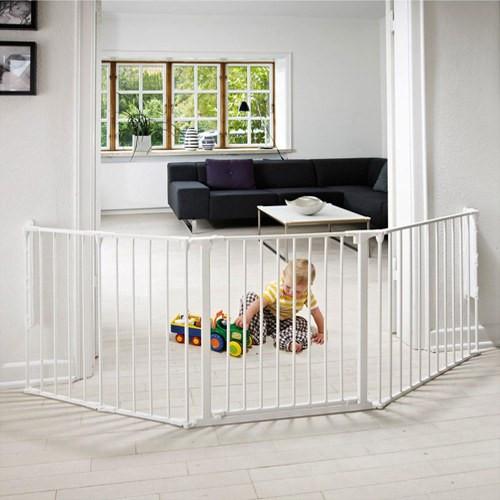 BabyDan Configure Flex Gate Large - White (90-223 cm)