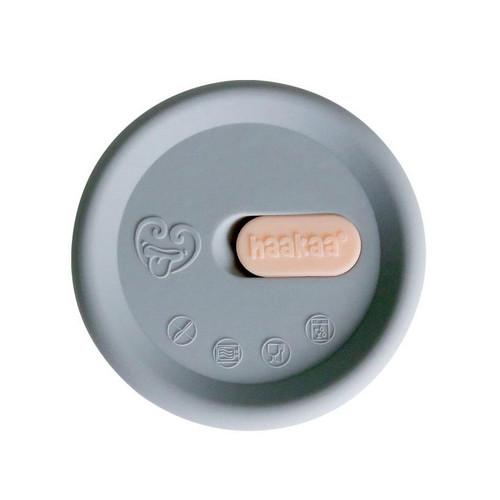 Haakaa New Silicone Breast Pump Cap - Grey