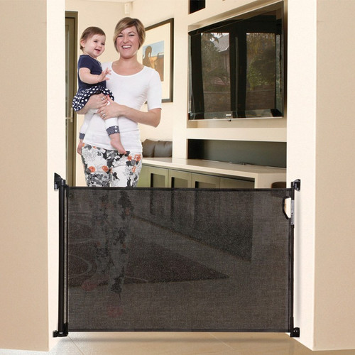 Dreambaby Retractable Stair Gate - Black