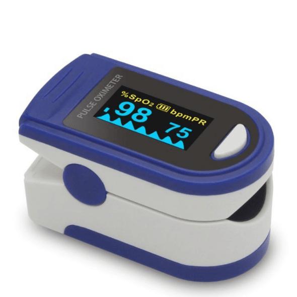 Finger Pulse Oximeter - Waveform and Bargraph Display