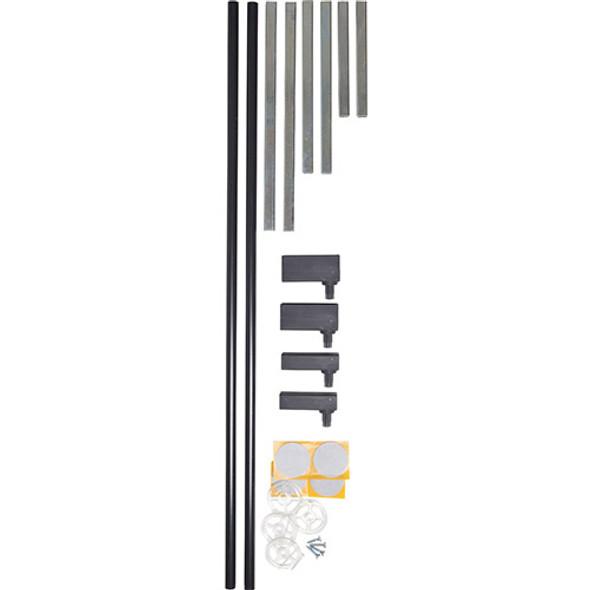 BabyDan Standard Extend-A-Gate Kit - Black (2 X 7 cm) BabyDan