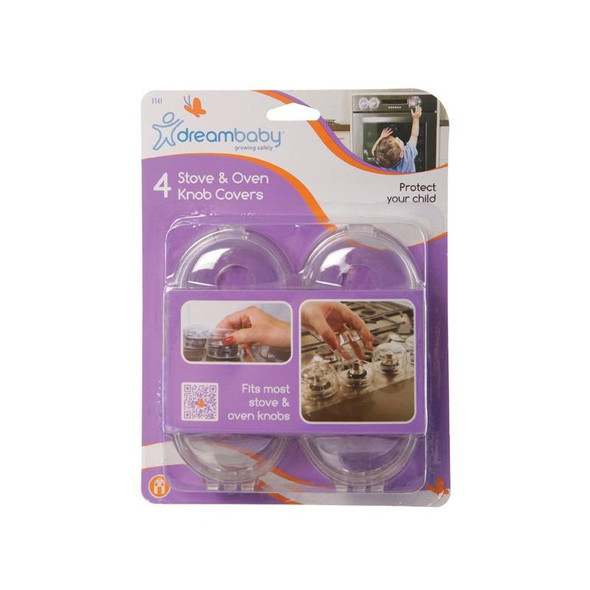 Dreambaby Stove Knob Covers 4 Pk