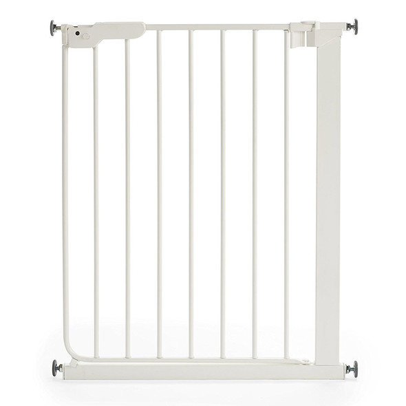 BabyDan Danamic Narrow Pressure Fit Safety Gate White (63-69.5cm)