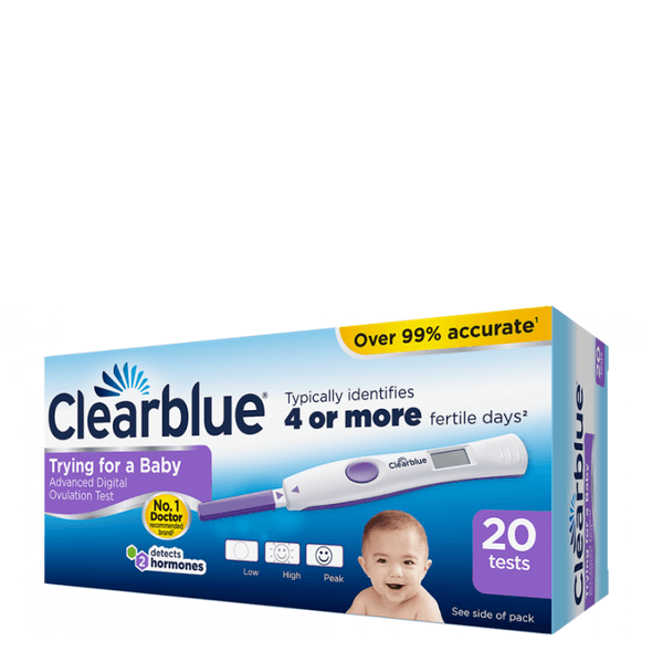Clearblue Advanced Digital Ovulation 10 Tests landscape