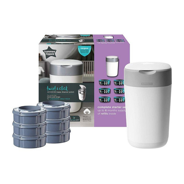 Tommee Tippee Sangenic Nappy Disposal System Starter Set