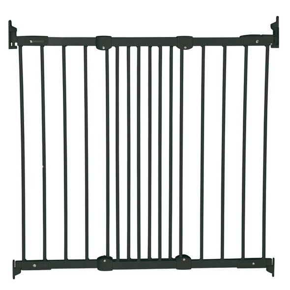BabyDan Flexi Fit Metal Stair Gate - Black (67-105.5 cm) BabyDan