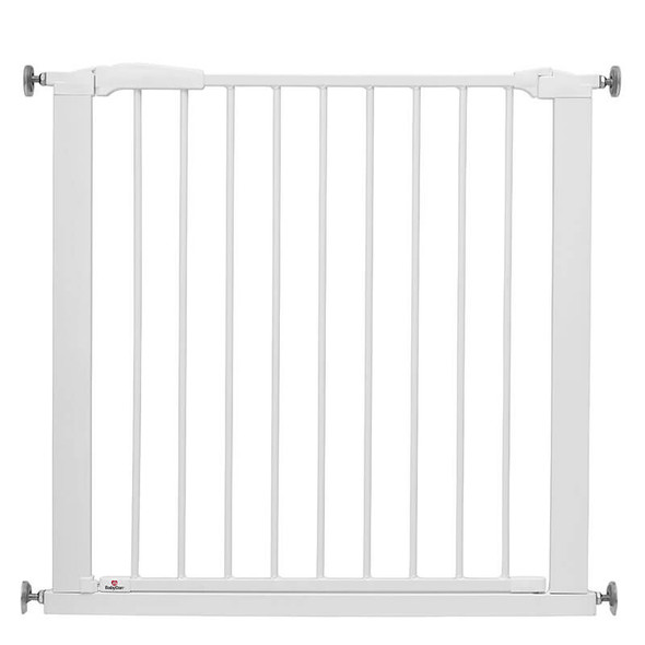 BabyDan Perfect Close Gate White