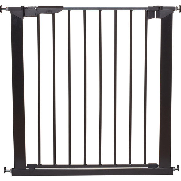 Babydan Premier True Pressure Fit Safety Gate - Black (73.5 - 79.6cm; Max 119.3) BabyDan