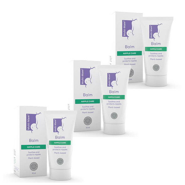 Buy 2 Get 1 Free Multi-Mam Balm - Nipple Care For Breastfeeding Mums