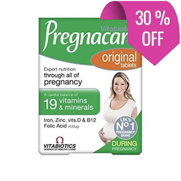 Pregnacare Original - 30 Tablets