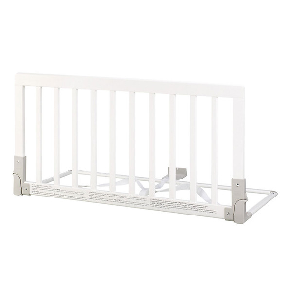 BabyDan Wooden Bedrail White BabyDan