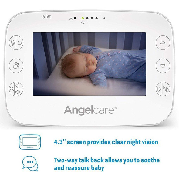Angelcare Baby Movement Monitor with video AC327  screen