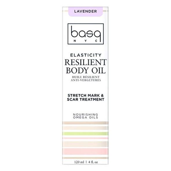 Basq Resilient Body Stretch Mark Oil - Lavender Basq