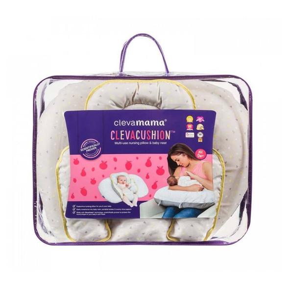 Clevamama - ClevaCushion 10-in-1 Nursing Pillow - Grey