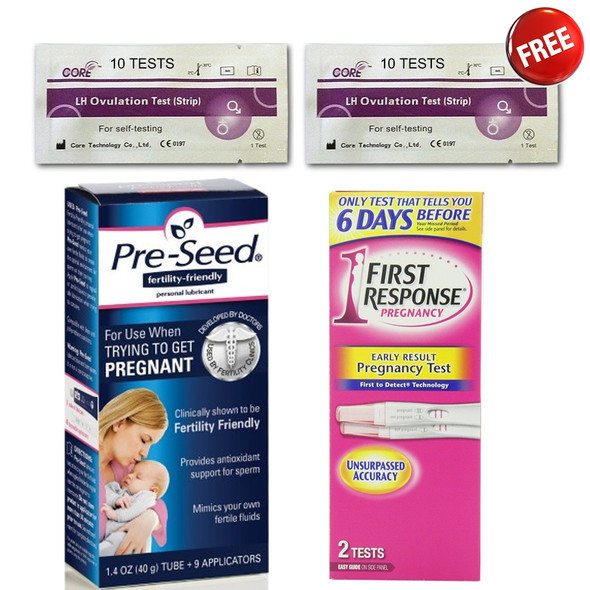 Pregnancy Planning Kit (10 Free Ovulation Tests)
