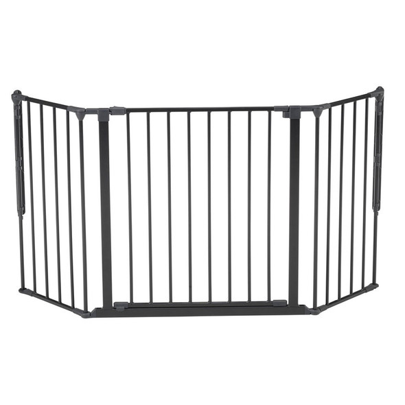 BabyDan Configure Flex Gate Medium - Black (90-146 cm) BabyDan
