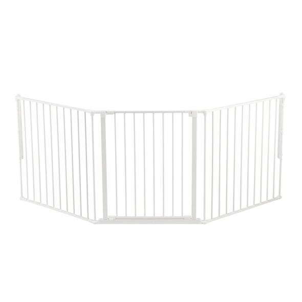 BabyDan Configure Flex Gate Large - White (90-223 cm) BabyDan