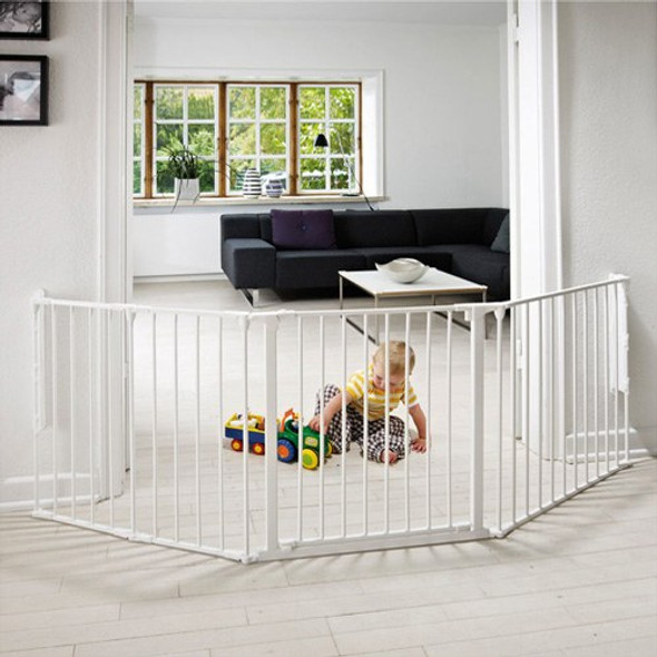 BabyDan Configure Flex Gate Large - White (90-223 cm)