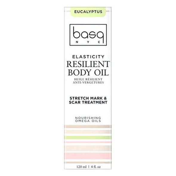 Basq Resilient Body Stretch Mark Oil - Eucalyptus Basq