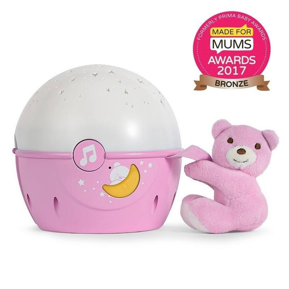 Product Chicco Next2Stars Baby Night Light Projector - pink