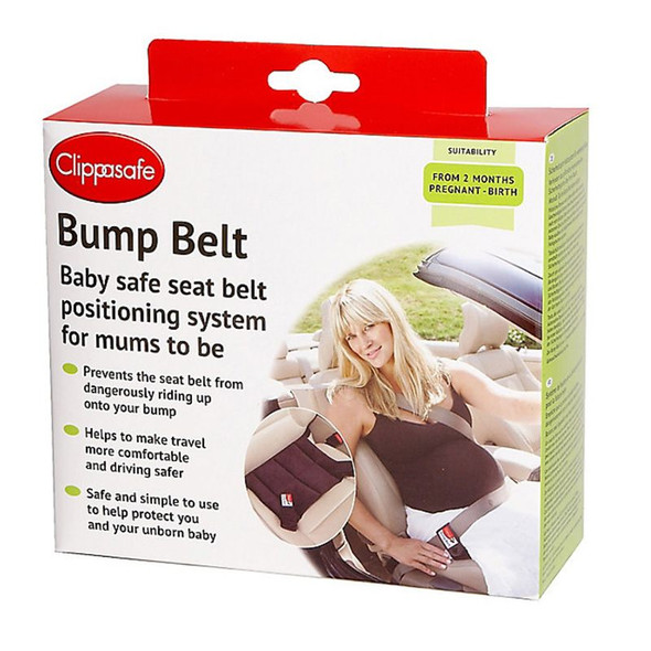 Clippasafe Pregnancy Bump Belt box