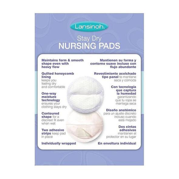 Lansinoh Disposable Nursing Pads 60Pk back