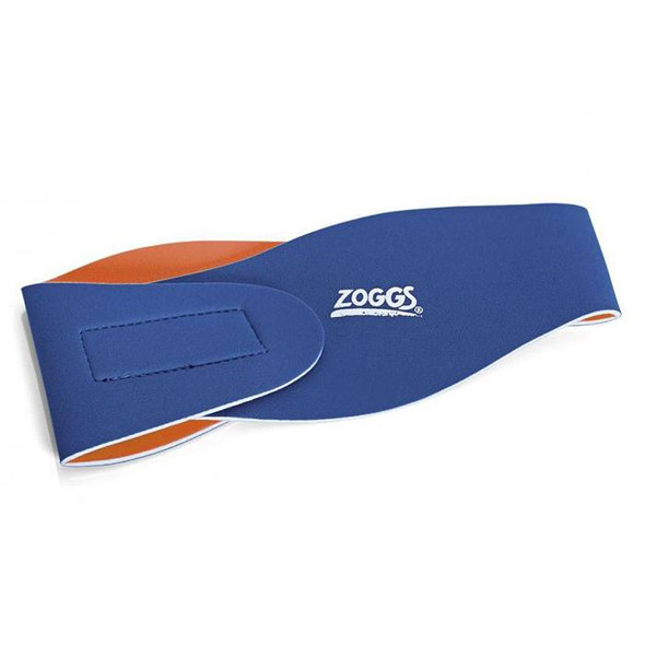 Zoggs Junior Ear Band Blue/Orange