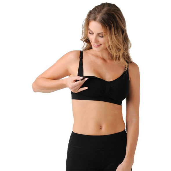 Bandita Nursing Bra With Removable Pads - Belly Bandit - Black
